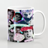 stiles Mugs featuring Void Stiles by Cute & Clay
