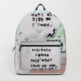 Therese Patricia Okoumou Backpack