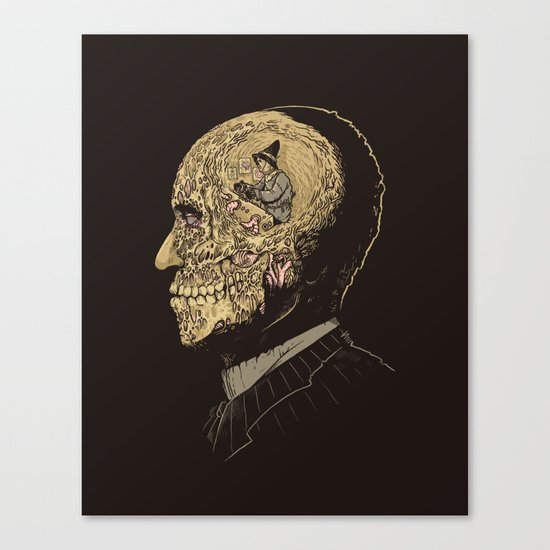 Why zombies want brains Canvas Print