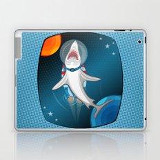 shark in space Laptop & iPad Skin