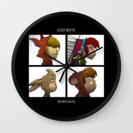Lost Boyz - Seven Days Wall Clock