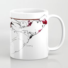Nudegrafia - 005 fingering Coffee Mug