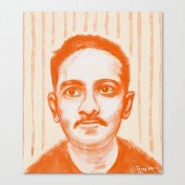 Portrait of Jibananda Das Canvas Print