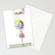 Rain on me... Stationery Cards