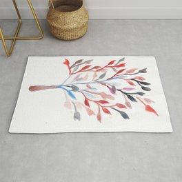 Watercolour Tree 6  Modern Watercolor Art   Abstract Watercolors Rug