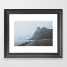 Þjóðvegur, Iceland Framed Art Print