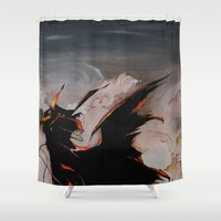 spawn Shower Curtains featuring Spawn by mfrioni