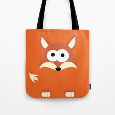 Minimal Fox Tote Bag