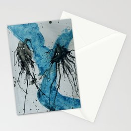 Ink monster- pair Stationery Cards