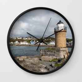 Portpatrick in Dumfries in Scotland Wall Clock