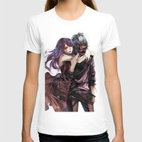 tokyo ghoul T-shirts featuring kankei tokyo ghoul by Lee Chao Charlie Vang