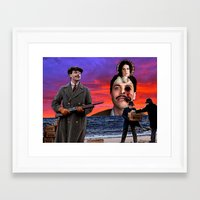 boardwalk empire Framed Art Prints featuring Harrow - Boardwalk Empire by Danielle Tanimura