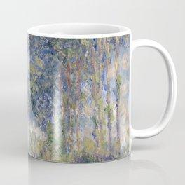1891-Claude Monet-Poplars on the Epte-81 x 81 Coffee Mug