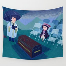 THE FUNERAL Wall Tapestry