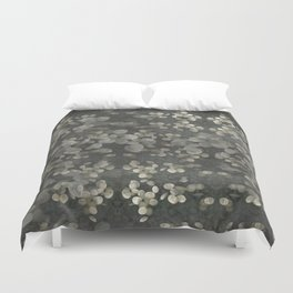 """""""Nacre pearls on silver river"""" Duvet Cover"""