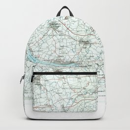 PA Harrisburg 223170 1984 topographic map Backpack