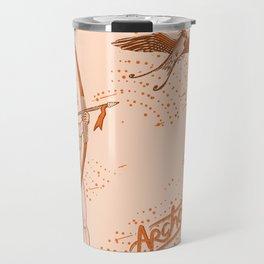 Archer naked girl (Amazons) Travel Mug