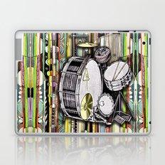 Drum Kit Laptop & iPad Skin