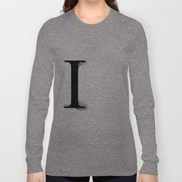 oboTypo _ I Long Sleeve T-shirt