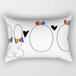 Genetically Gay Rectangular Pillow