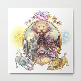 Grimm Fairy Tale Metal Print