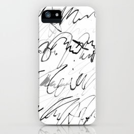 love letter to monster iPhone Case