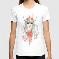 zodiac T-shirts featuring Zodiac - Taurus by Simona Borstnar