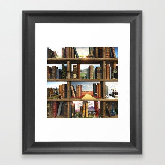 StoryWorld Framed Art Print