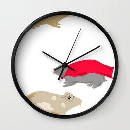 Hammies Wall Clock