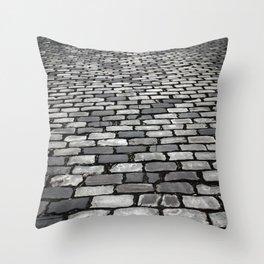 Cobbled Throw Pillow