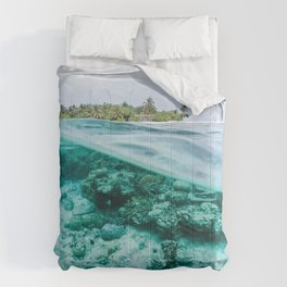 Underwater Maldives Comforters