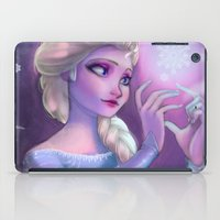 frozen elsa iPad Cases featuring Elsa by Red Red Telephone