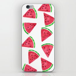 Watermelon Slices Pattern iPhone Skin
