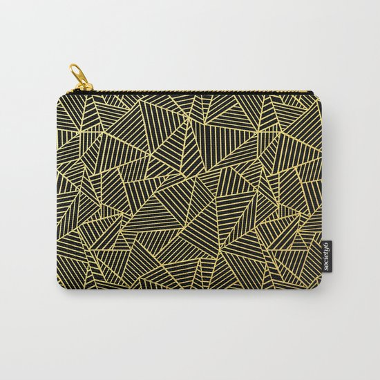 Ab 2 R Black and Gold Carry-All Pouch
