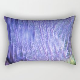 Kaleidoscope Trees Rectangular Pillow