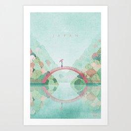 Japan, Fall Art Print
