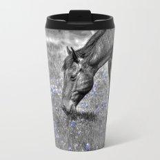 Horse & Bluebonnets Travel Mug