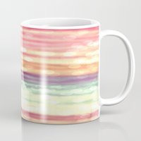 pastel Mugs featuring Pastel  by WhimsyRomance&Fun
