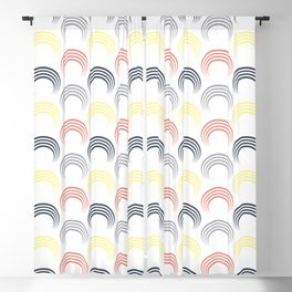 Colorful arches 2 Blackout Curtain