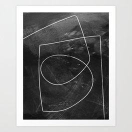 Minimal 9 Art Print