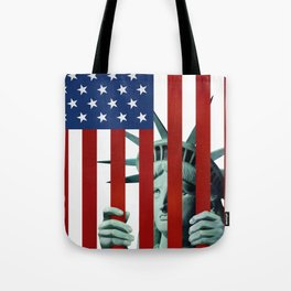 America's self-imprisonment Tote Bag
