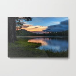 Dreaming Juanita Lake in Northen California Metal Print