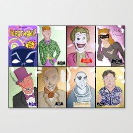 Bat Rogues Canvas Print