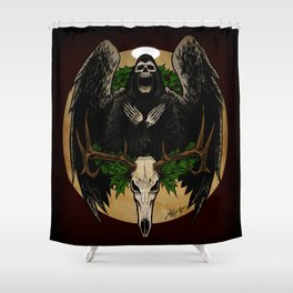 The Spirit of Creepmas Shower Curtain