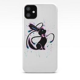 Sylveon Splash Silhouette iPhone Case