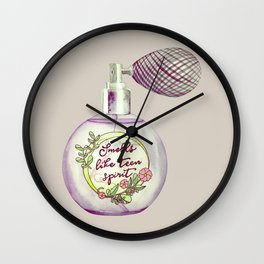 Teen Spirit Perfum Wall Clock