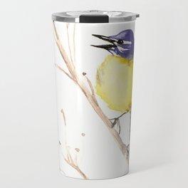 Yellow Wagtail Travel Mug