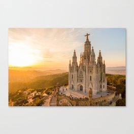 Templo del Sagrado Corazón de Jesús Canvas Print