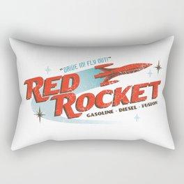 Red Rocket Rectangular Pillow