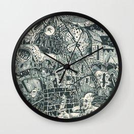 N.A.S.A. Control Wall Clock